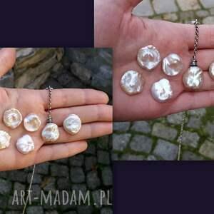 naszyjniki duża-perła nowoczesny naszyjnik z dużą perłą