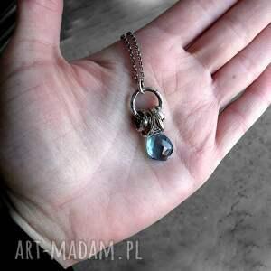 naszyjniki komplet-biżuterii nowoczesny naszyjnik- srebro