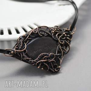czarne naszyjniki naszyjnik-z-agatem nuada - naszyjnik z agatem