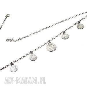 hand made srebro numizmaty /choker/ vol. 2