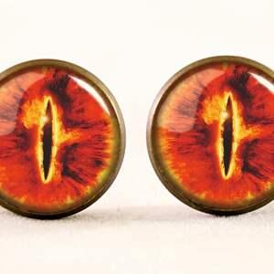 naszyjniki władca oko saurona - medalion