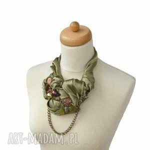 kolia naszyjniki oliwka naszyjnik handmade