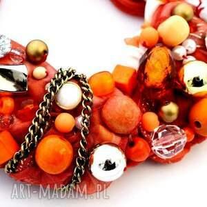 handmade naszyjniki naszyjnik orangina