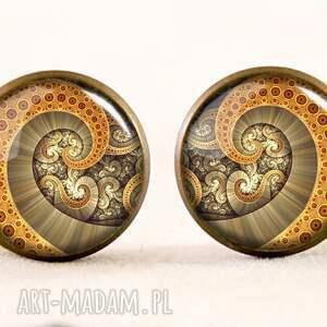 naszyjniki macki ośmiornica - medalion z łańcuszkiem