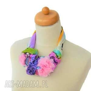 wyjątkowe naszyjniki naszyjnik pastelove handmade