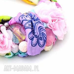 kolia naszyjniki pastelove naszyjnik handmade