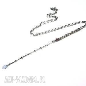 urokliwe naszyjniki srebro patyczek - naszyjnik