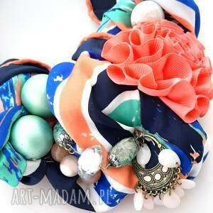 unikalne naszyjniki naszyjnik peacock handmade