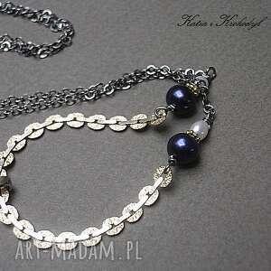 złote naszyjniki pozłacane pearls - naszyjnik