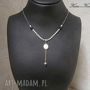 handmade naszyjniki słodkowodne pearls - naszyjnik