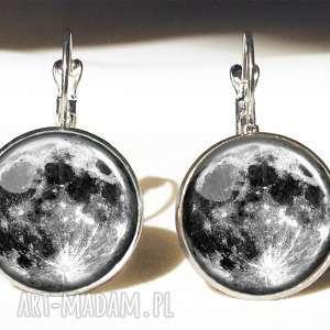 unikalne naszyjniki księżyc pełnia księżyca - medalion