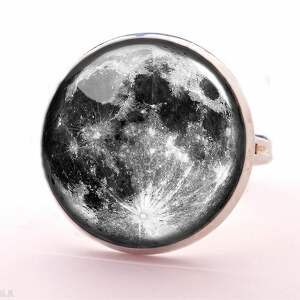 pełnia naszyjniki księżyca - medalion
