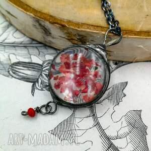 naszyjnik z-wisiorem naszyjniki czerwone pepper - z pieprzem