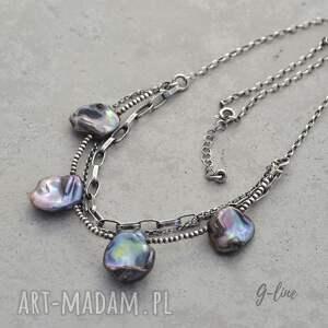 Grey Line project Perłowy naszyjnik - perła