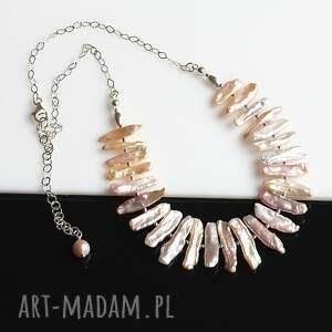 naszyjniki biwa perły - naszyjnik