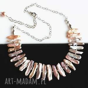 wyjątkowe naszyjniki perły biwa - naszyjnik
