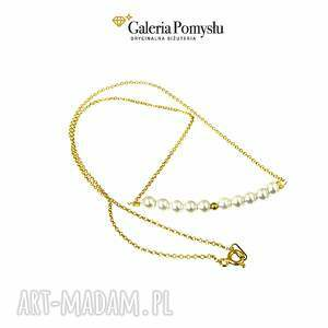 złote naszyjniki perły majorka