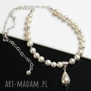 niepowtarzalne naszyjniki perły seashell