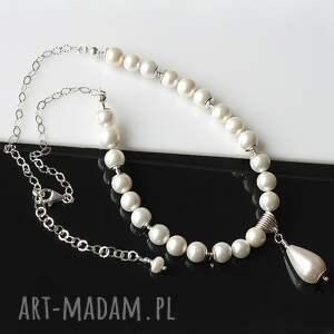 naszyjniki sea shell perły seashell