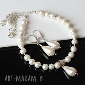 sea shell naszyjniki perły seashell