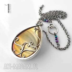 ciekawe naszyjniki kwarc perperuna ii srebrny naszyjnik