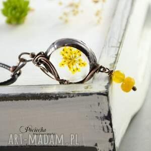 brązowe naszyjniki miedź perraneth - naszyjnik z prawdziwym