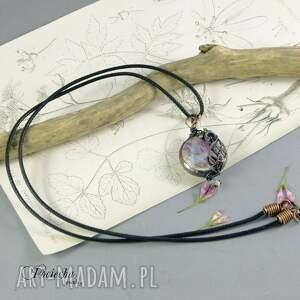 hand-made naszyjniki naszyjnik petals - z płatkami