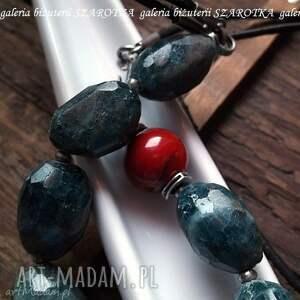 hand-made naszyjniki kianit pikantnie przyprawiony naszyjnik