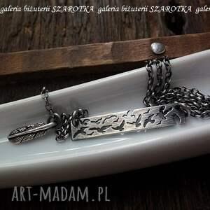 naszyjniki srebro przyleciały srebrny naszyjnik