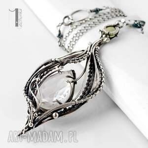 ręcznie zrobione naszyjniki srebro ravenna srebrny naszyjnik