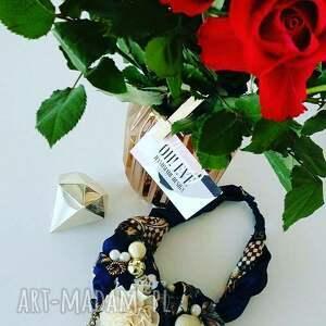 nietuzinkowe naszyjniki kolorowy royal naszyjnik handmade