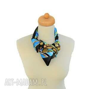 niebieskie naszyjniki naszyjnik royal handmade