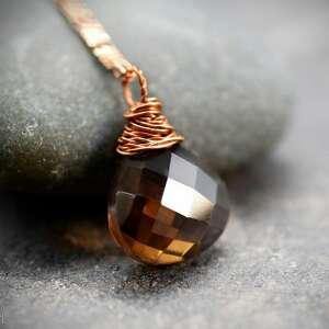 biżuteria naszyjniki 925 różowo pozłacany łańcuszek z
