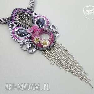naszyjniki naszyjnik s027/mela~ sutasz kwiaty