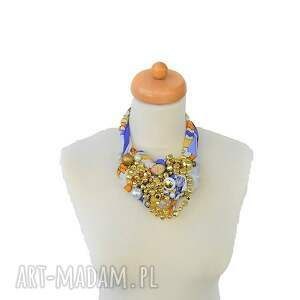 kolorowe naszyjniki naszyjnik shinenaszyjnik handmade