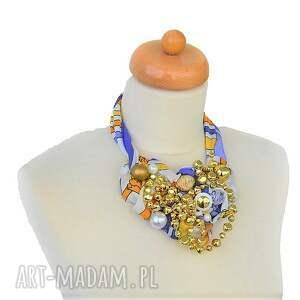 złoty naszyjniki shinenaszyjnik handmade