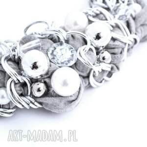 intrygujące naszyjniki naszyjnik silver chains handmade