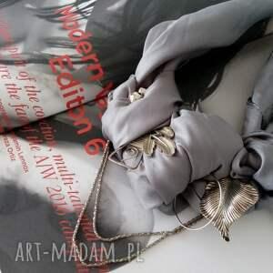 niesztampowe naszyjniki srebrny silver rocket naszyjnik handmade