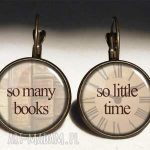 cytat naszyjniki so many books - duży medalion
