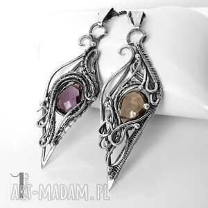 naszyjniki wire squamis srebrny naszyjnik