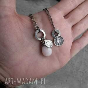 naszyjniki z-zawieszkami 2 srebrne- z zawieszkami