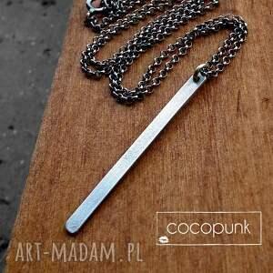 naszyjniki delikatny srebrny naszyjnik z soplekiem