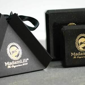 różowe naszyjniki medalion 925 srebrny naszyjnik z suszonymi