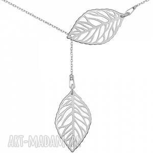 oryginalne naszyjniki modny srebrny regulowany naszyjnik