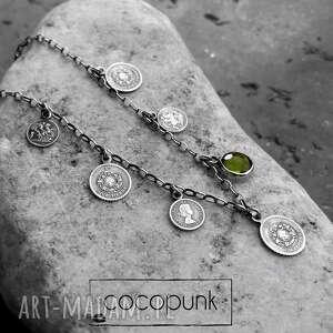 naszyjnik z-monetami naszyjniki modny w nowoczesnym stylu wykonany