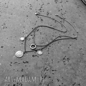 zawieszki naszyjniki srebro - naszyjnik boho