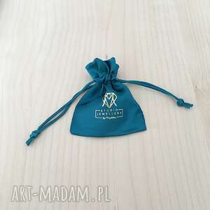 kryształ naszyjniki naszyjnik srebrny. blue