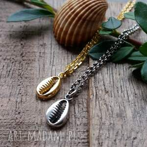 ręcznie wykonane naszyjniki delikatny srebro pozłacane