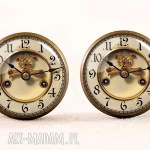 wyjątkowe naszyjniki vintage stary zegar - foto medalion