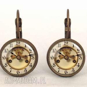 zegar naszyjniki złote stary - foto medalion
